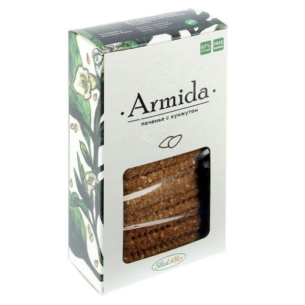 "Печенье ""Армида"" с кунжутом без сахара без муки 150г"
