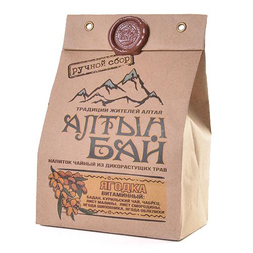 Чай Ягодка витаминный 100г Алтын Бай Алтай