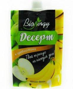 Десерт BioNergy Банан+Яблоко 140г