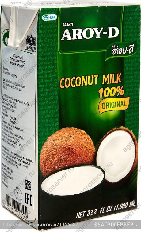 кокосовое молоко Арой д Aroy d в магазинах Мастерская вкуса