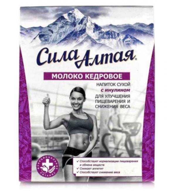 Напиток на кедровом молоке Для улучшения пищеварения и снижения веса 150г
