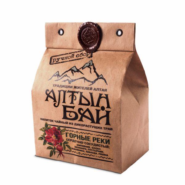 Чай травяной Горные реки для сердца 100г Алтын Бай Алтай