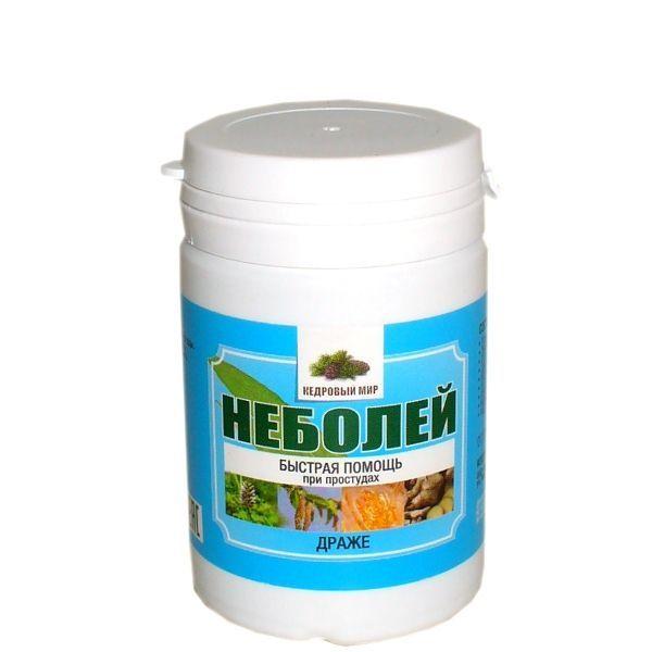Эковитамины на травах в драже Неболей (быстрая помощь при простудах) 50г