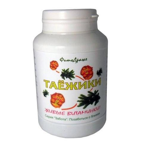 фитодраже витамины Таежики Сибирь на живице Мастерская вкуса