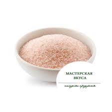Соль Гималайская розовая крупный помол солонка 230г