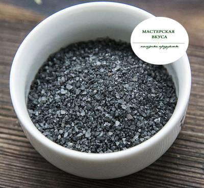 Черная Костромская соль 100г