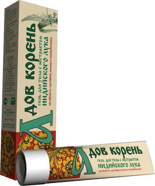 Гель для тела с экстрактом индийского лука Адов корень 50г