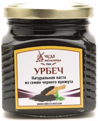 Паста из семян черного кунжута (урбеч) 270г