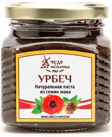 Паста из семян мака (урбеч) 280г