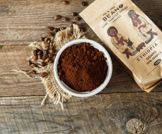 кофе молотый сидамо эфиопия арабика 100%