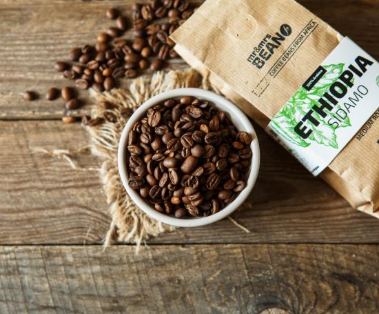 сидамо эфиопия кофе в зернах Арабика 100%