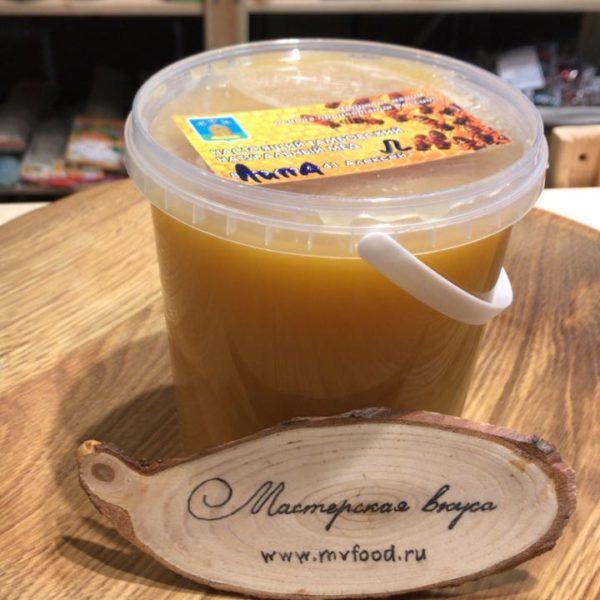 Мед тамбовский с частной пасеки Липа 1,4кг
