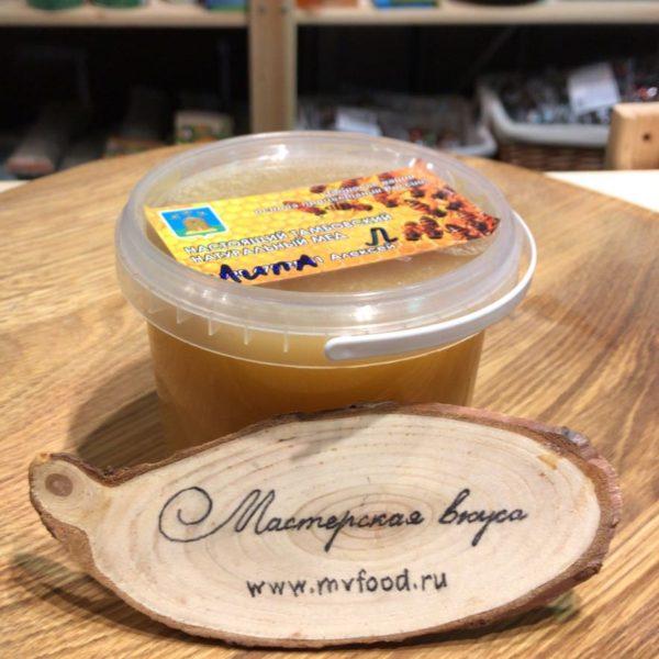 натуральный тамбовский липовый мед с частной пасеки