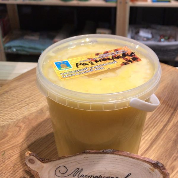 Мед тамбовский с частной пасеки Разнотравье 1,4кг