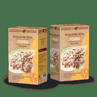 Воздушные зерна из полбы без сахара 170г