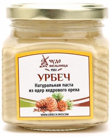Паста из ядер кедрового ореха (урбеч) 250г
