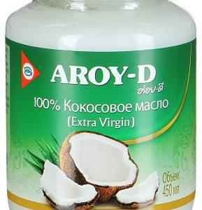 Кокосовое масло Extra virgin 450 мл aroyd