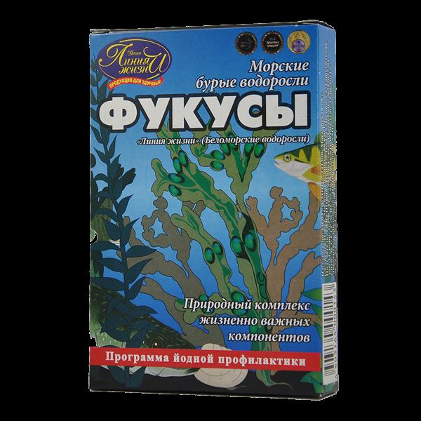 Фукус морская водоросль порошок 100г