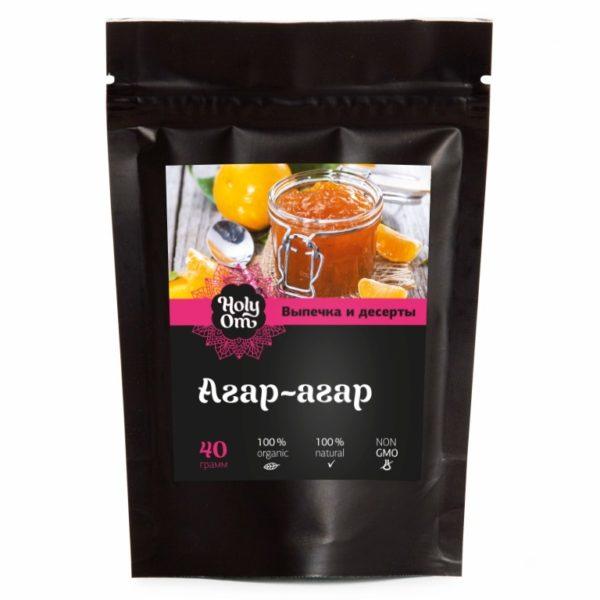 Агар-агар натуральный заменитель желатина 40г