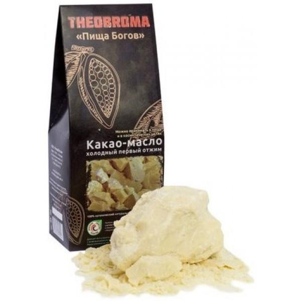 Масло какао натуральное 100г Theobroma