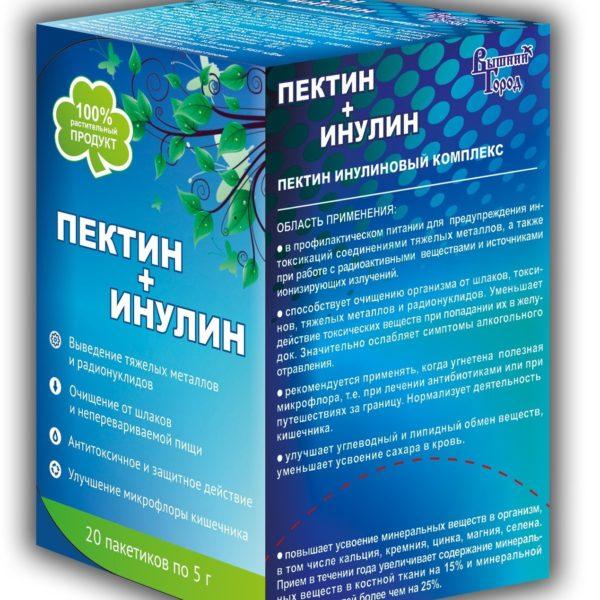 Пектин + Инулин пищевой 100г (20*5г)
