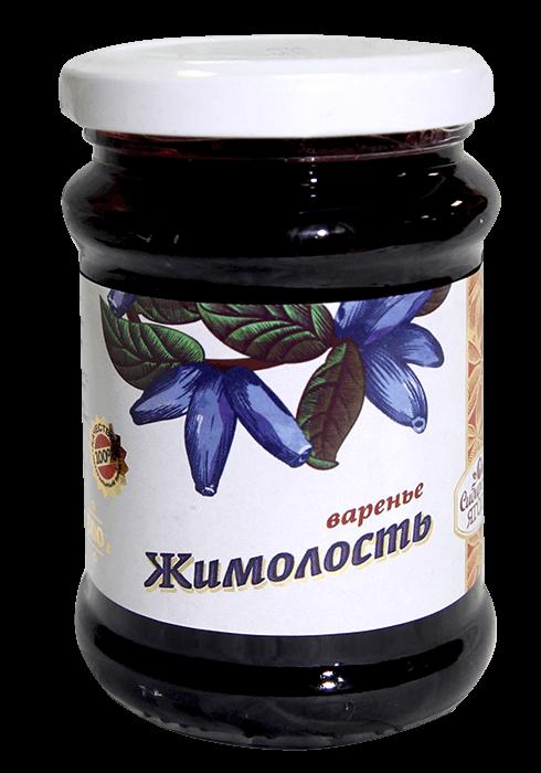 Варенье из жимолости без консервантов 0,3кг Томск