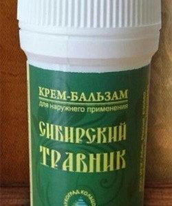 Крем-бальзам Сибирский травник 25мл