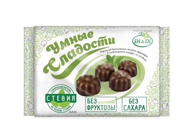 мармелад в шоколадной глазури