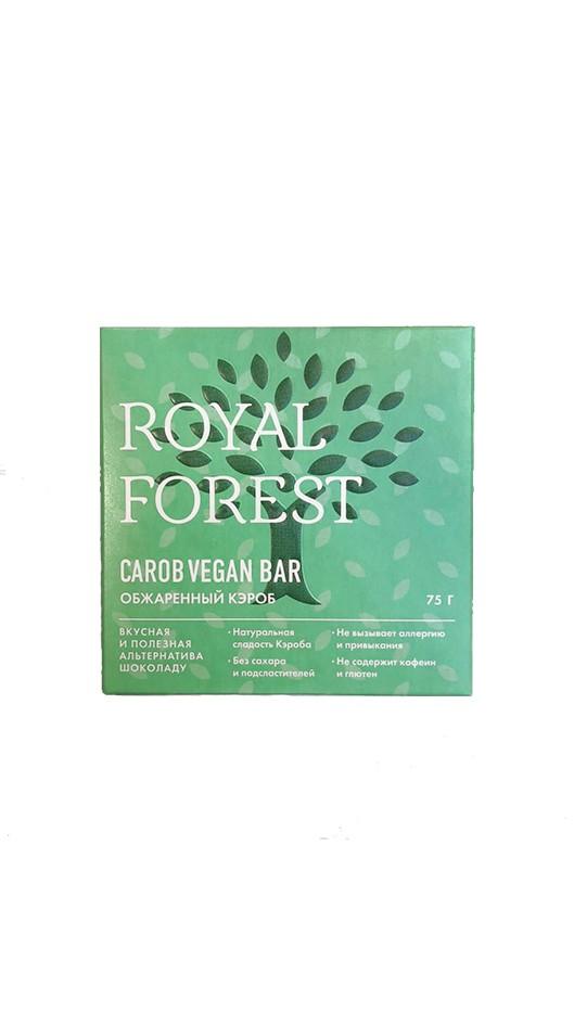 Шоколад на обжаренном кэробе без сахара и глютена веганский (Vegan bar) 75г