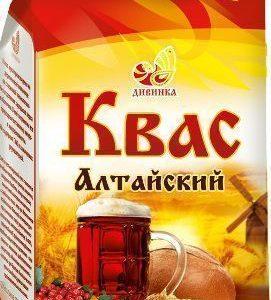 Квас Алтайский с ржаным солодом и ягодами 700г