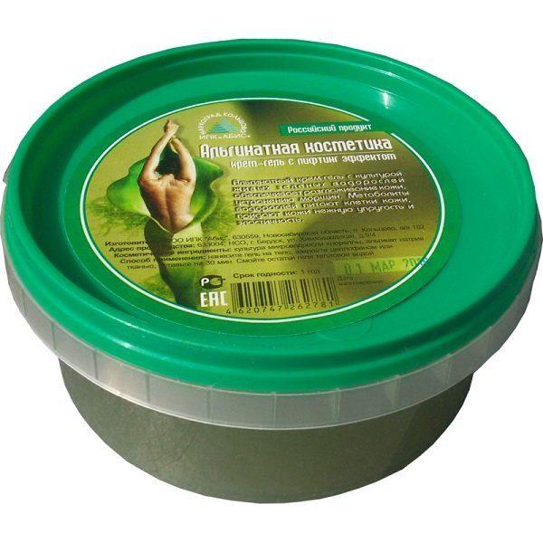 альгинатный крем-гель для тела с хлореллой с лифтинг эффектом Мастерская вкуса