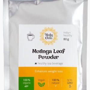 Моринга порошок из листьев (Moringa Leaf Powder) чайный травяной напиток 80г