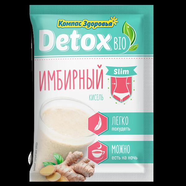 Кисель detox bio Slim Имбирный 250г 25г*10 пакетов