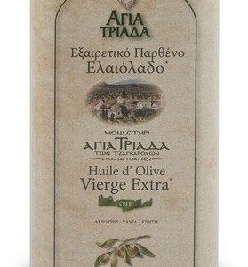 Оливковое масло греческое Agia Triada в жести 1л Греция
