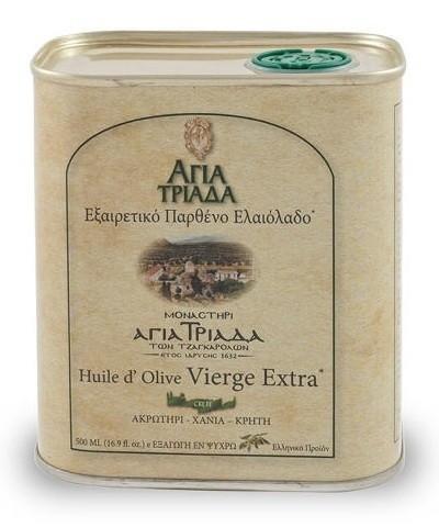 Оливковое масло греческое Agia Triada в жести 500мл Греция
