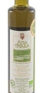 Оливковое масло греческое Agia Triada в стеклянной бутылке 500 мл Греция