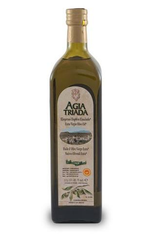 Оливковое масло греческое Agia Triada стекло 1л Греция