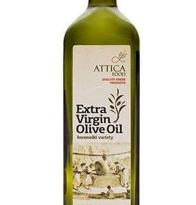 Оливковое масло первого холодного отжима Attica Food 1л стекло Греция