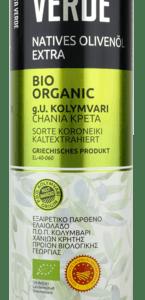 Оливковое масло CRETA VERDE с острова Крит PDO 1л металл Греция