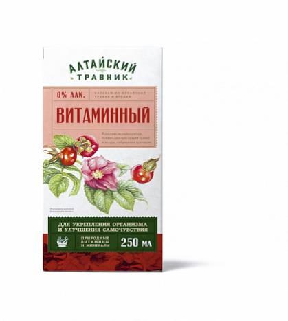 витаминный бальзам алтайский травник