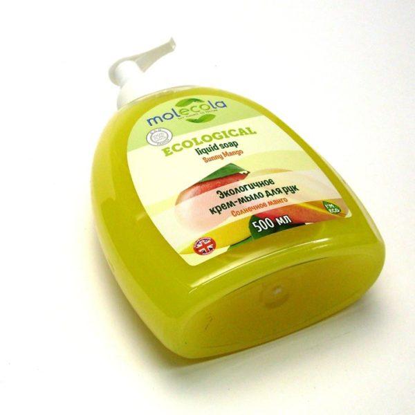 Жидкое мыло для рук Манго 500мл MOLECOLA