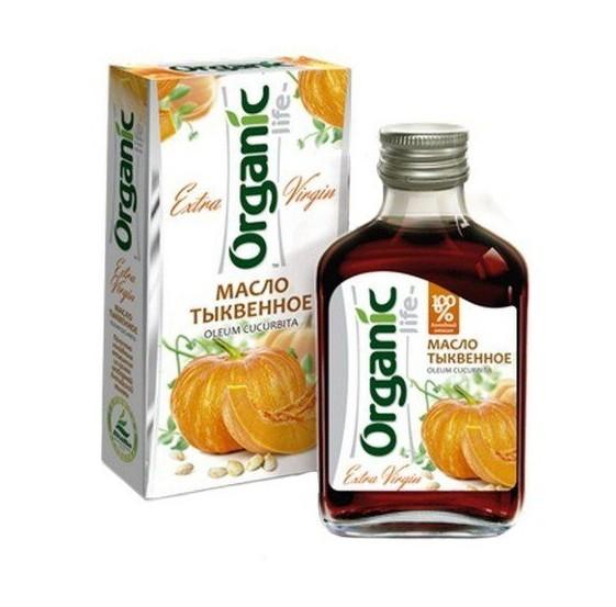 Масло тыквенное Organic 100мл