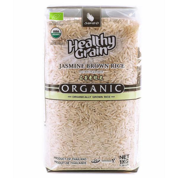 органик коричневый тайский рис