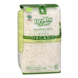 Органический тайский рис жасмин белый 1кг Таиланд