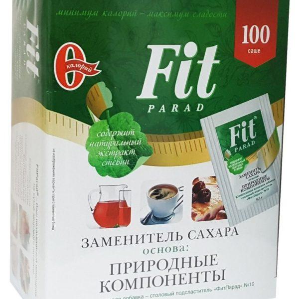 Смесь подсластителей ФитПарад № 10 на основе эритритола саше Мастерская вкуса