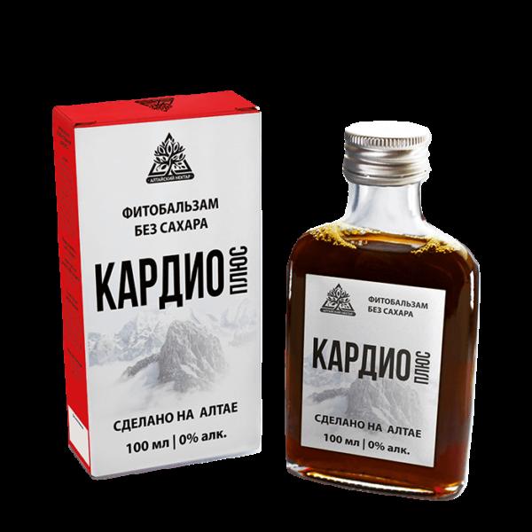 Фитобальзам кАРДИО + без сахара 100мл Алтай