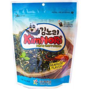 Хлопья из водорослей со вкусом креветки и кунжутом 40г Корея