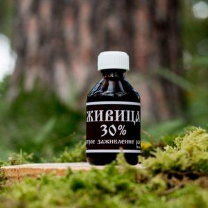 Живица кедровая 30% для наружного применения 50мл Сибирь