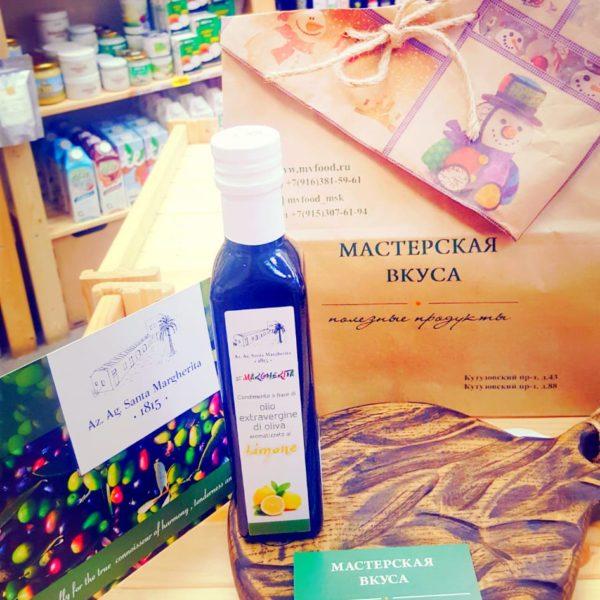 масло оливковое с лимоном сицилия