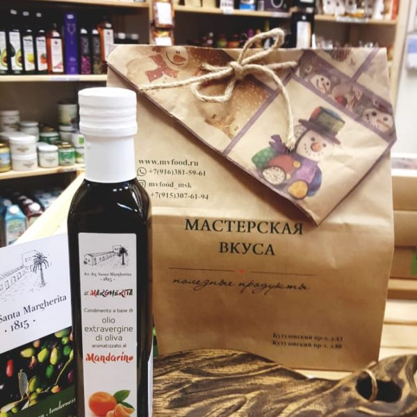 масло оливковое с мандарином сицилия